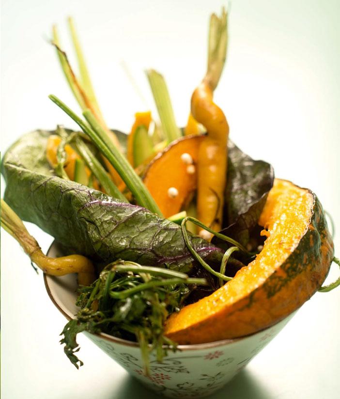 Fantasia di verdure agli aromi
