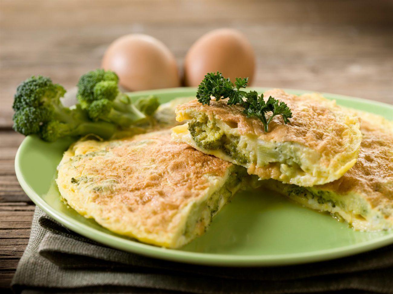 Frittata Ripiena ai Broccoletti