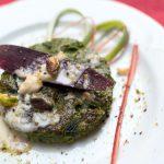Medaglioni Verdi in Salsa di Formaggio e Pistacchi
