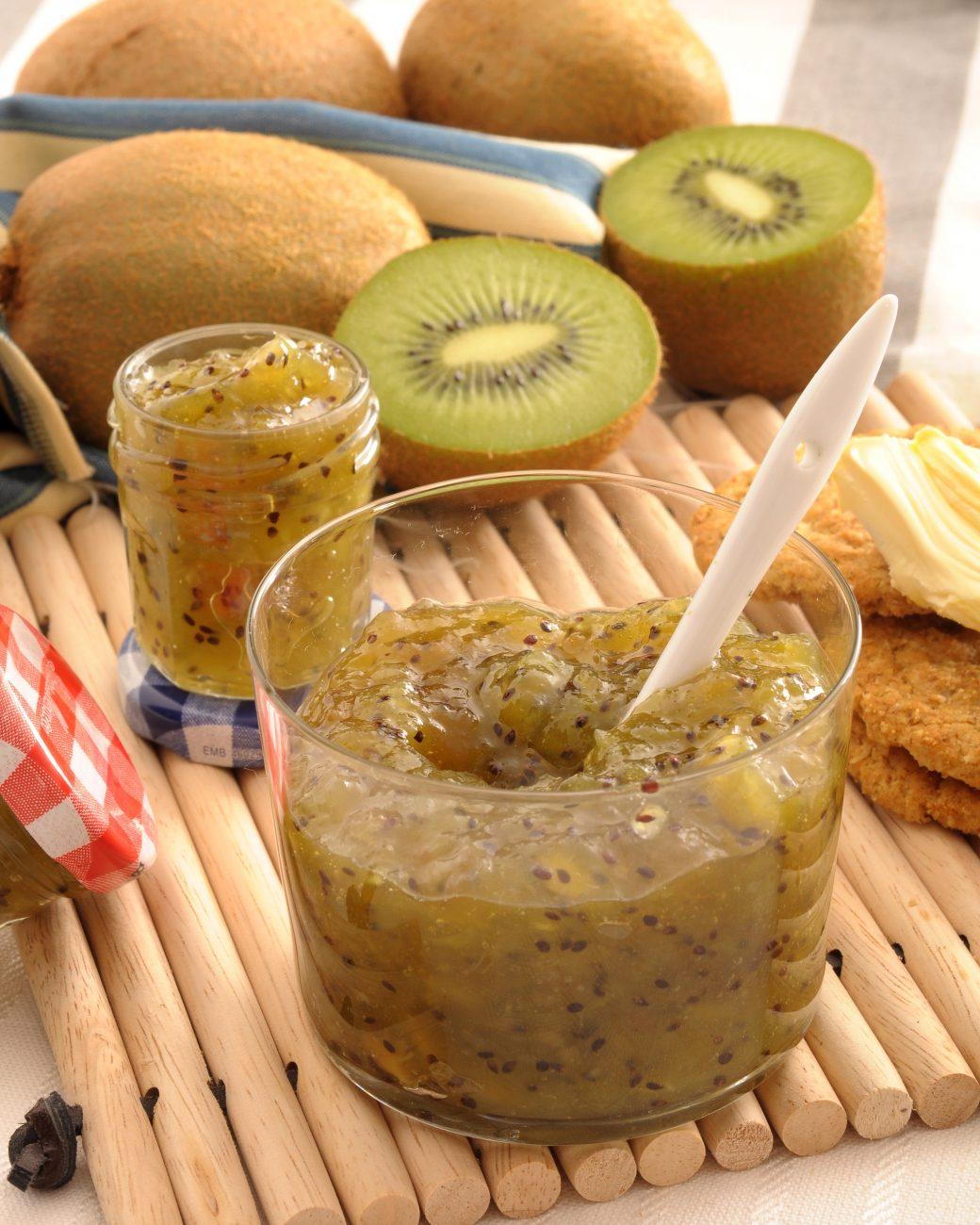 Confettura di kiwi alle spezie