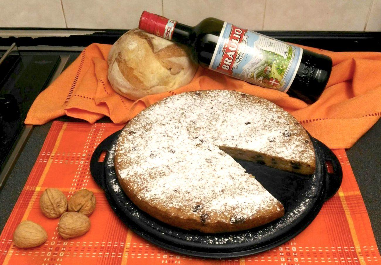 Torta di pane al Braulio