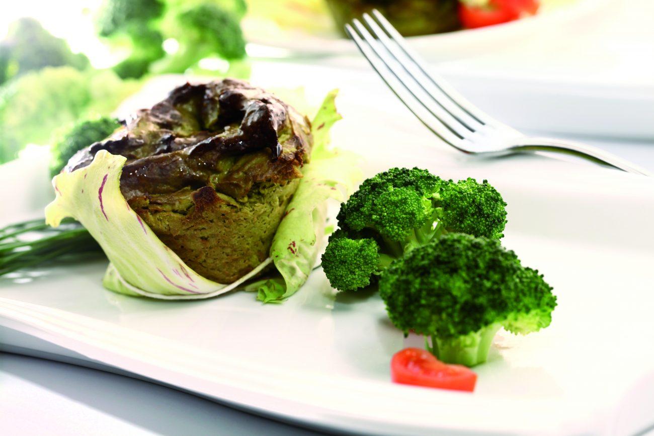 Flan ai broccoli
