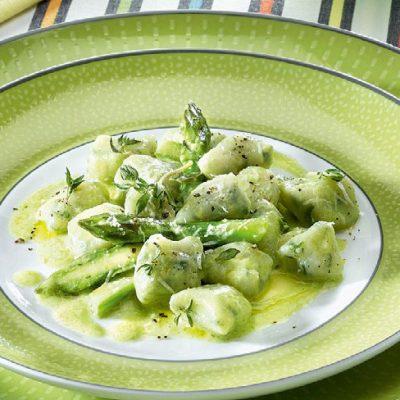 gnocchi asparagi
