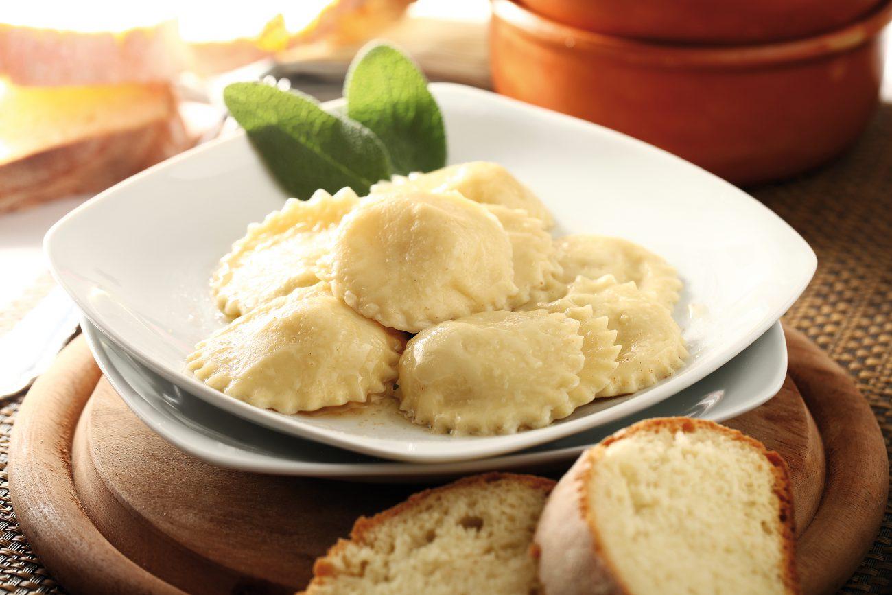 Tortelli di patate, burro e salvia
