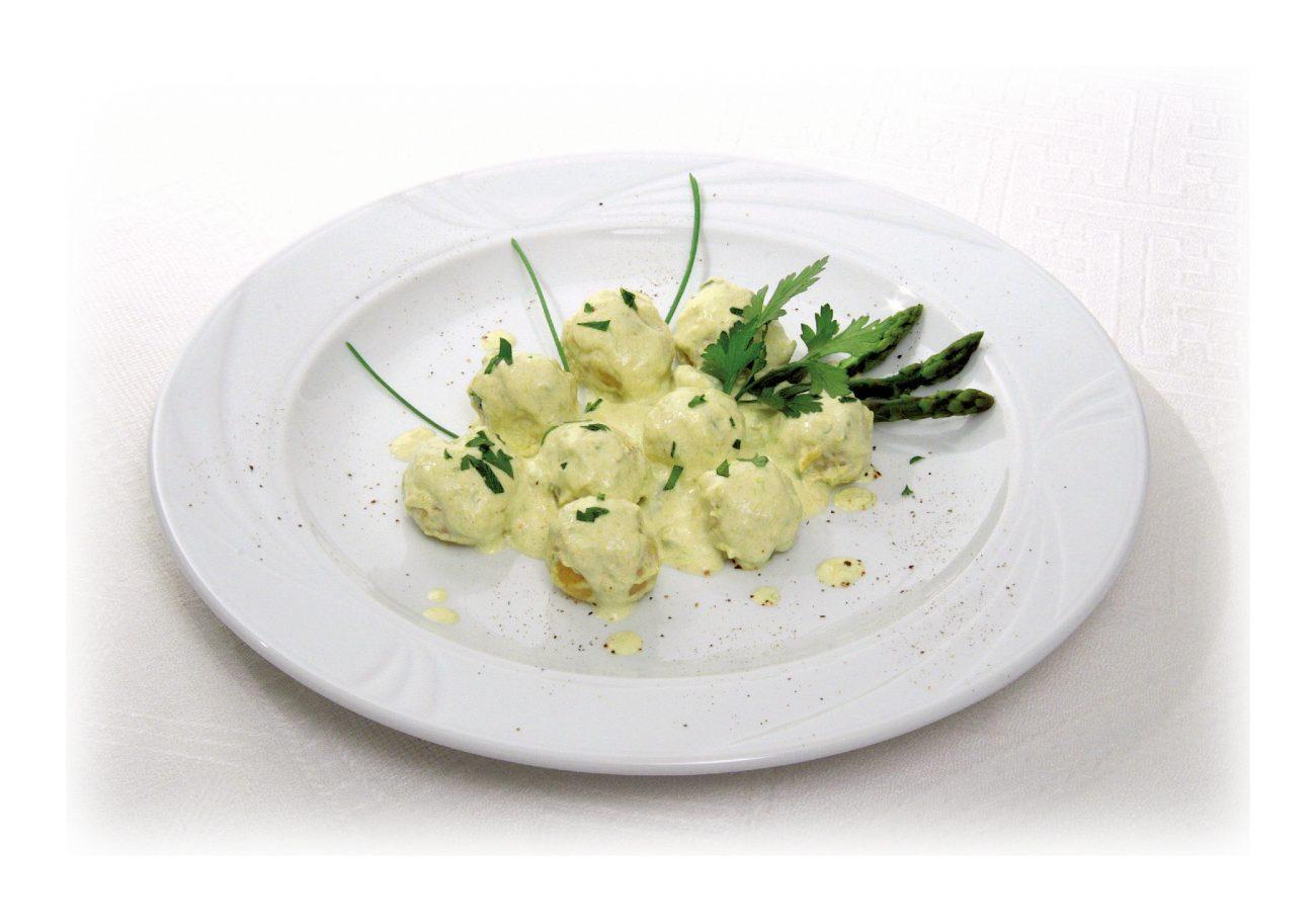 Gnocchi di patate ripieni di formaggi