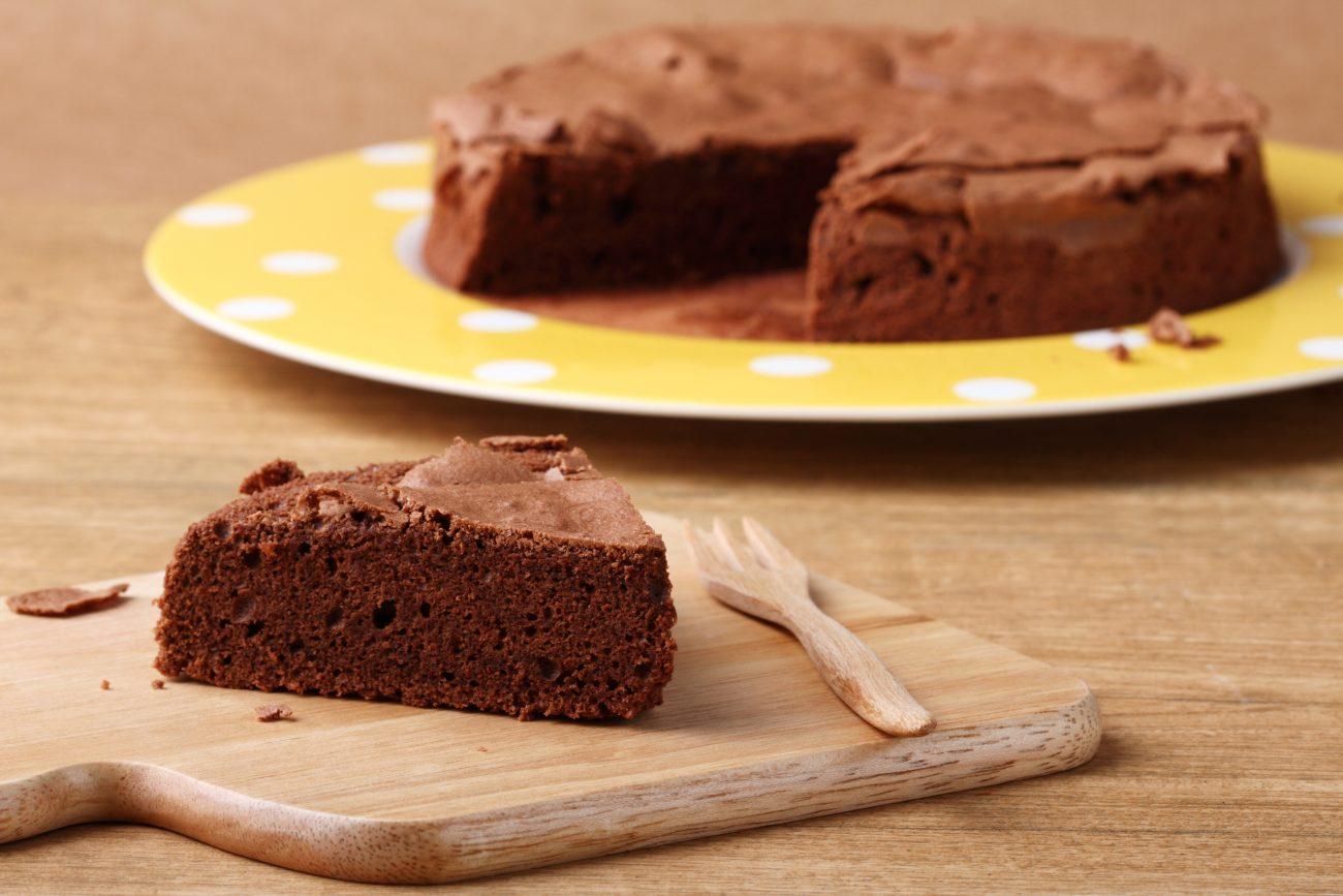Torta cacao al microonde