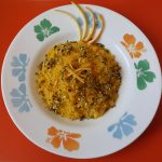 Risotto agli agrumi e zafferano