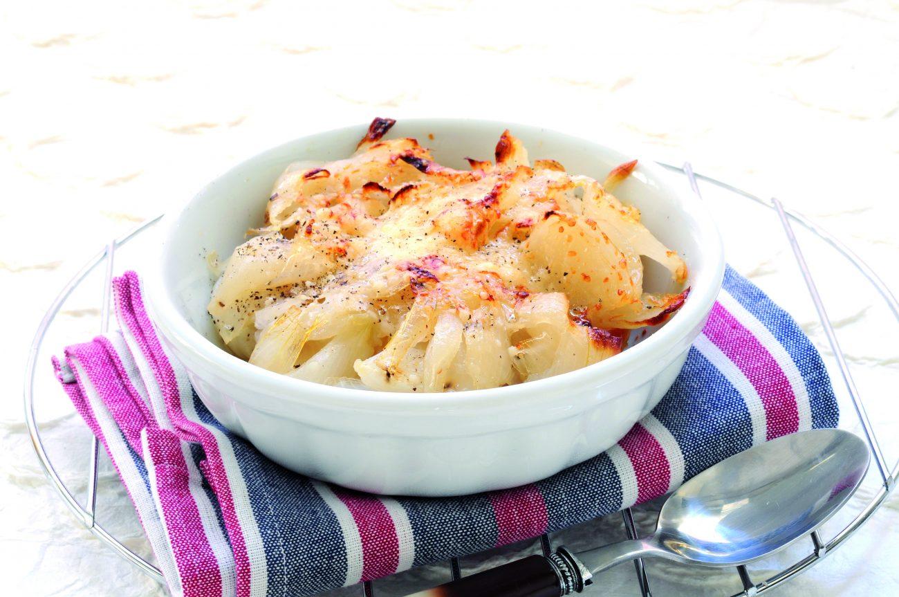 Zuppa di cipolle con friselle