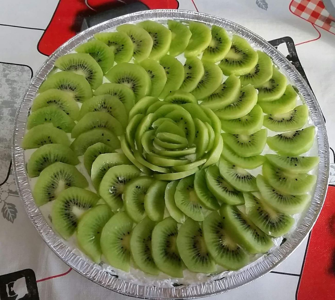 Cheesecake golosa ai Kiwi