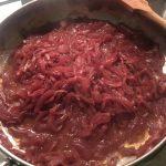 Cipolle stufate al vino rosso