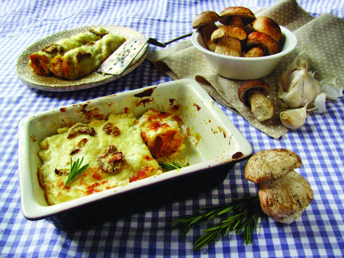 Cannelloni con porcini e zucca: ricetta passo a passo