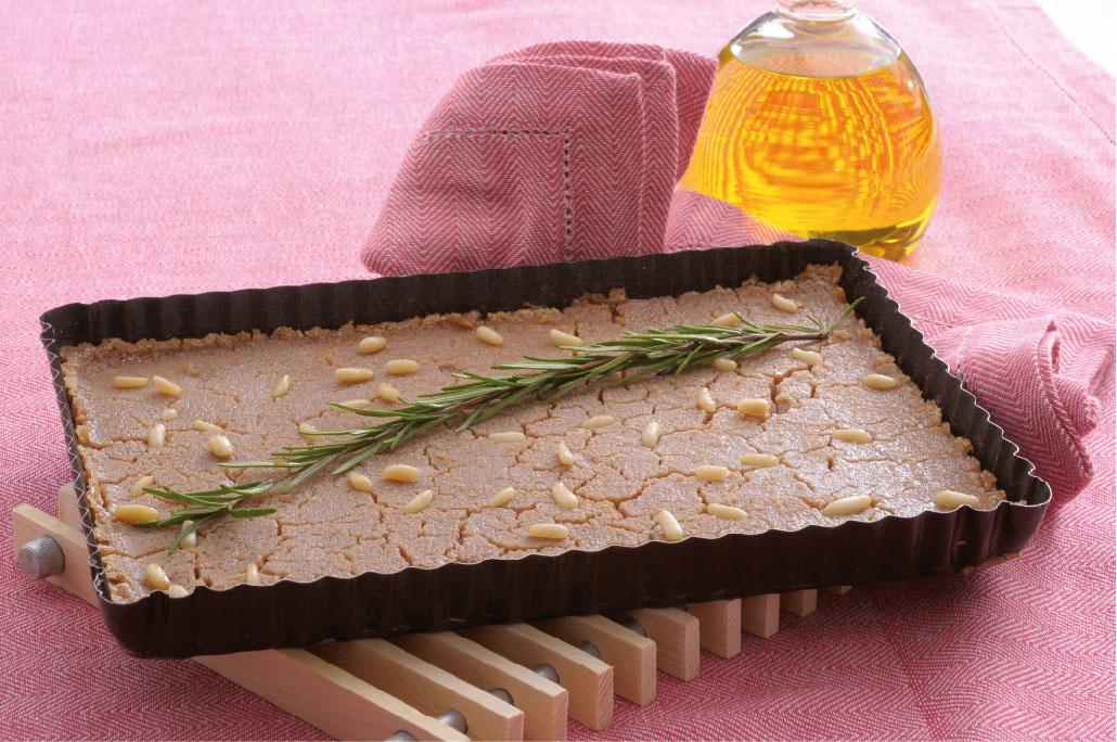 Castagnaccio al rosmarino: ricetta passo a passo
