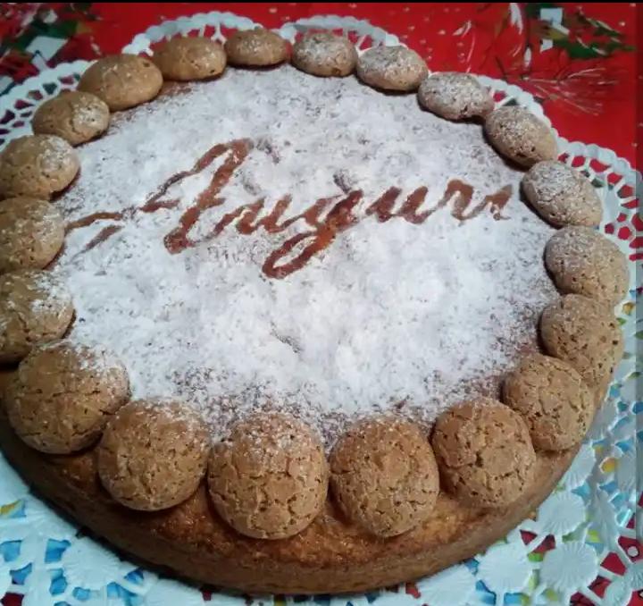 Torta Amaretti Arancia e Cannella