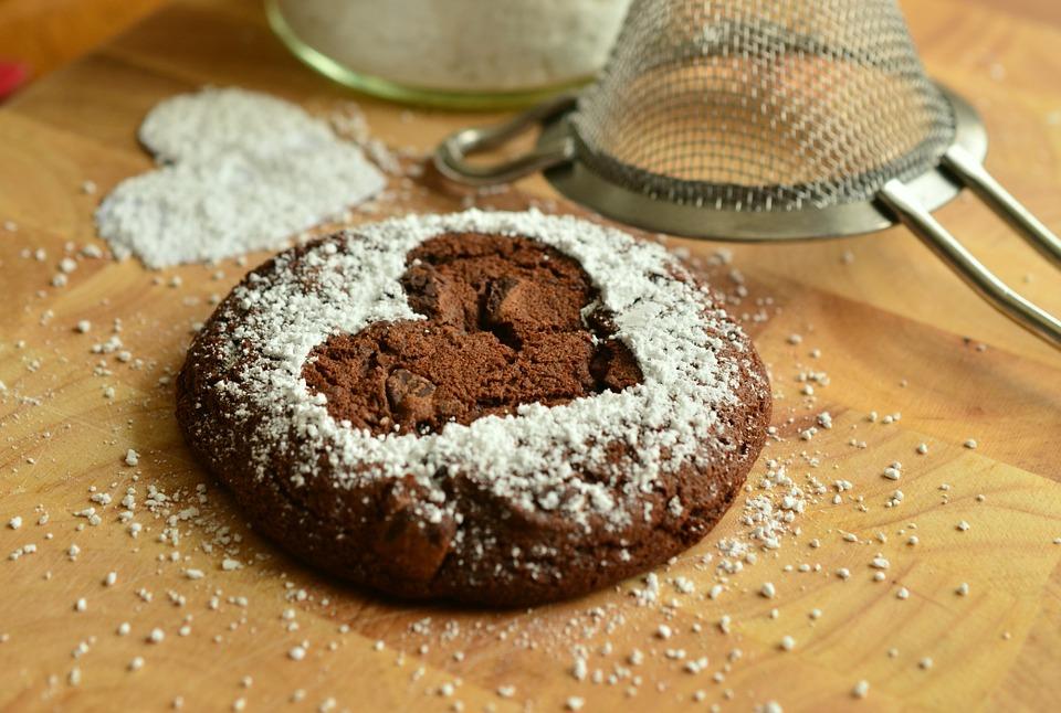 Biscotti al cioccolato di San Valentino