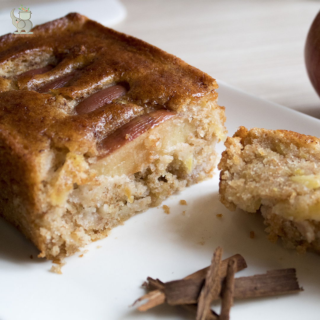 Plumcake di Mele Senza Zucchero