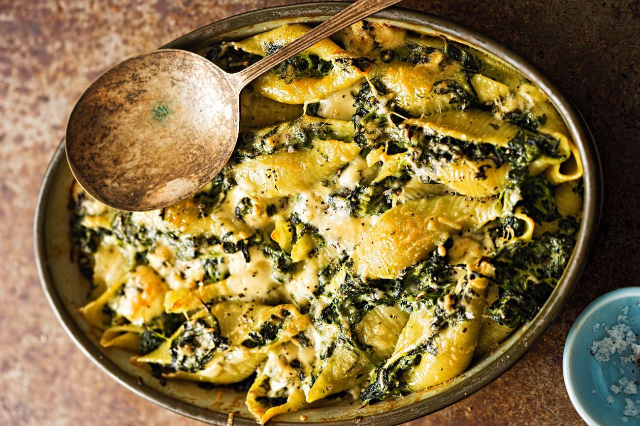 Pasta al Forno Vegetariana agli Spinaci