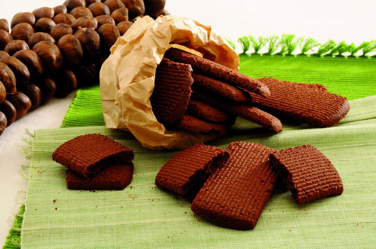 Biscotti di Cacao e Castagne