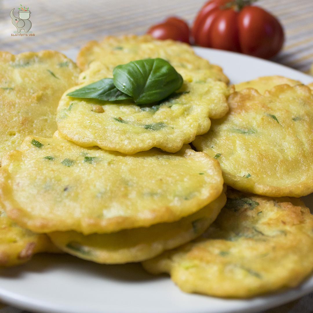 Frittelle Vegane di ceci e zucchine
