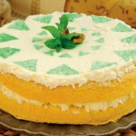 Torta Margherita Farcita di Crema allo Yogurt