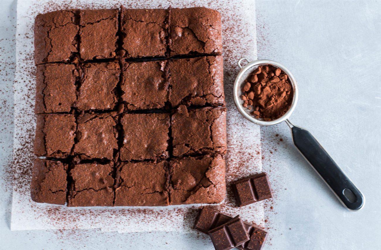 Ricetta Brownies Con Cacao In Polvere.Brownies Al Cioccolato Cotto E Crudo Cottoecrudo It