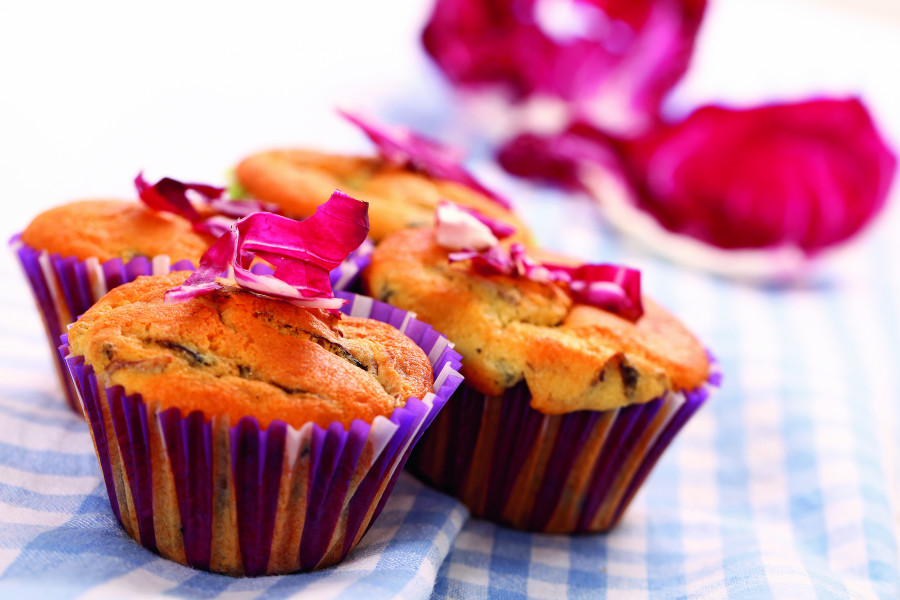 Muffin al radicchio