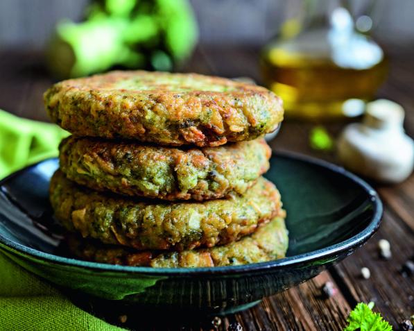 Burger vegetariani di broccoli e castagne