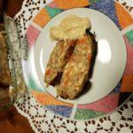 Polpettone in crosta di cavolo con mousse di soia