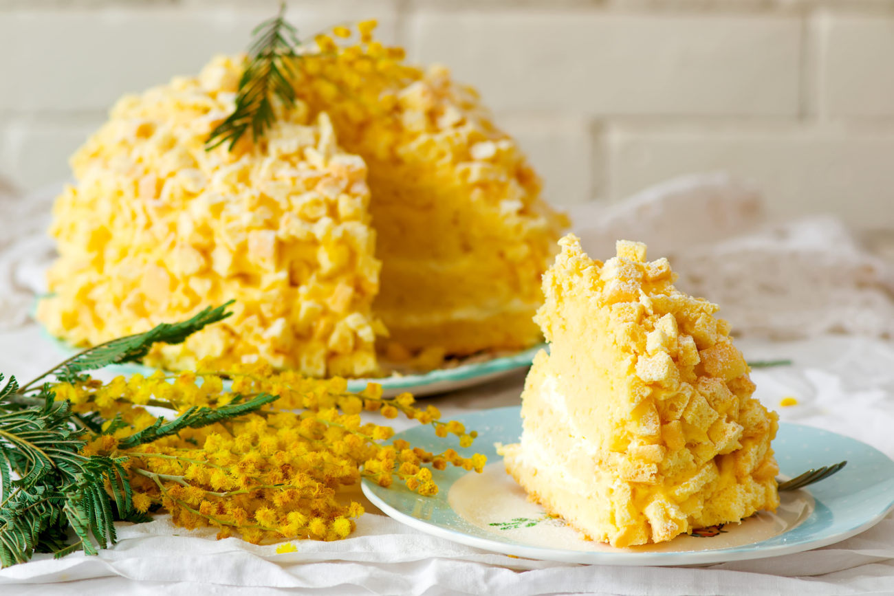 Torta Mimosa Facile