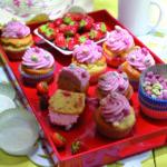 Cupcakes alla fragola
