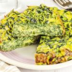 Frittata alta di spinaci