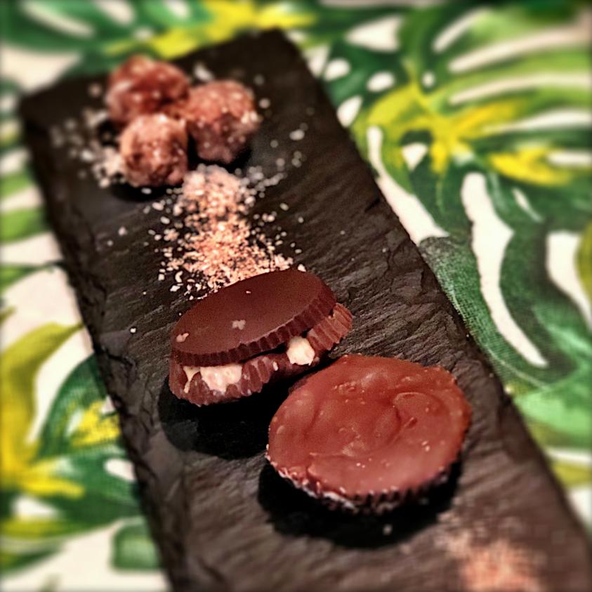 Tortini di farro soffiato e cioccolato