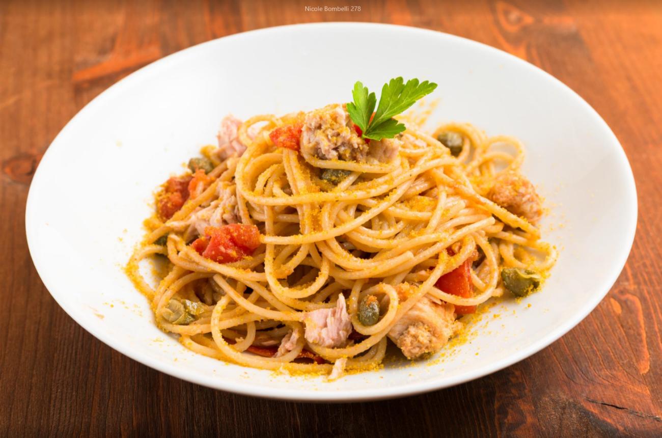 Spaghetti tonno e pomodorino