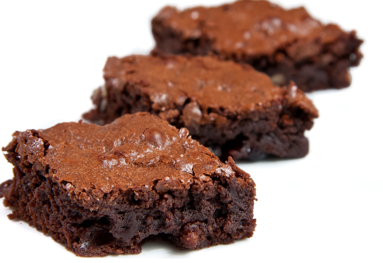 Brownies di pane