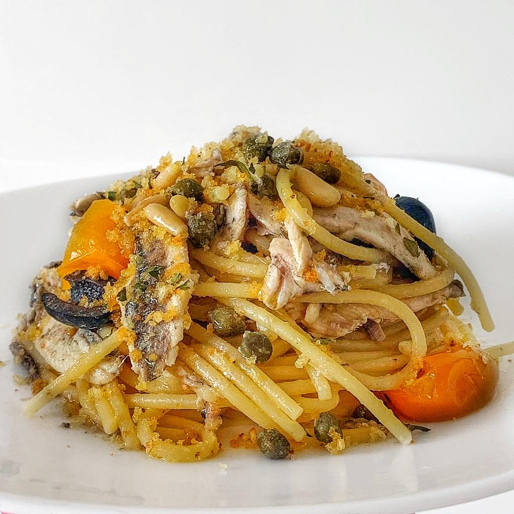 Spaghetti alla Eoliana