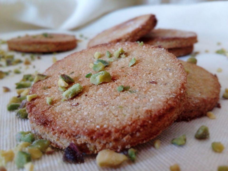 Biscotti cocco e pistacchio gluten free
