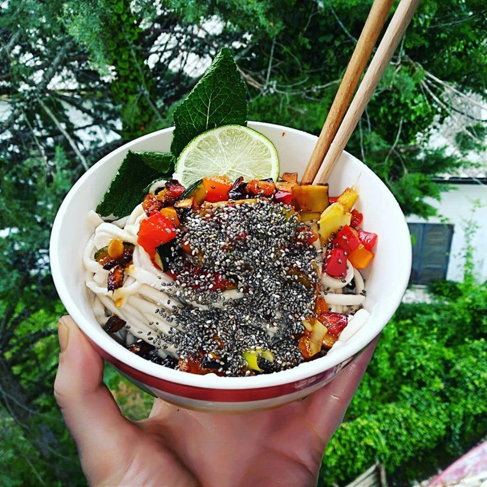 Noodles Udon Vegani