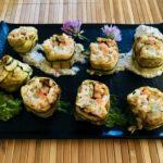 Maki di zucchine e seitan