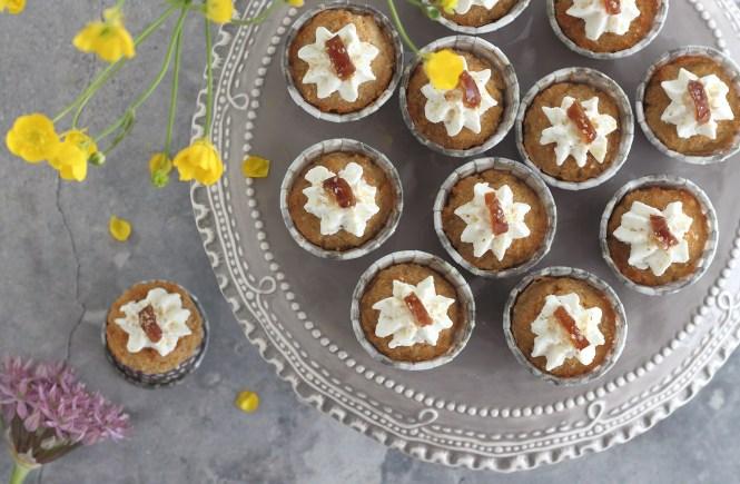 Muffin salati alle noci senza glutine