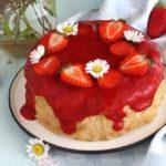 Cheesecake alle fragole senza glutine