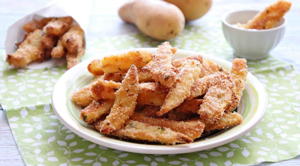 Bastoncini di patate croccanti