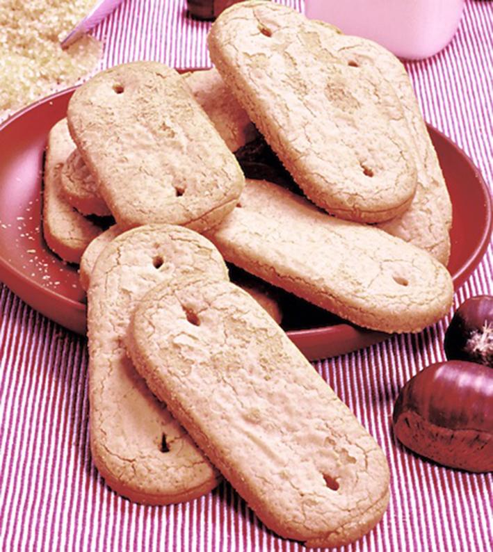Biscotti allo yogurt e farina di castagne