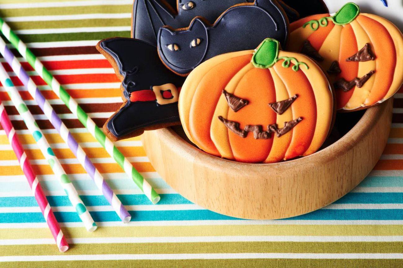 Biscotti spaventosi di Halloween