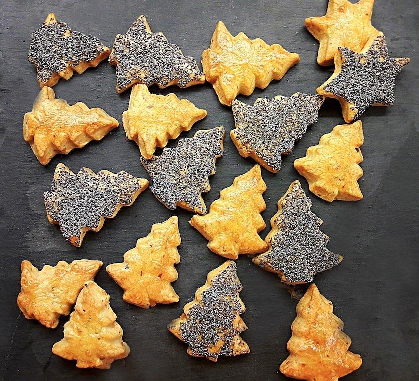 Alberelli di Natale al gorgonzola