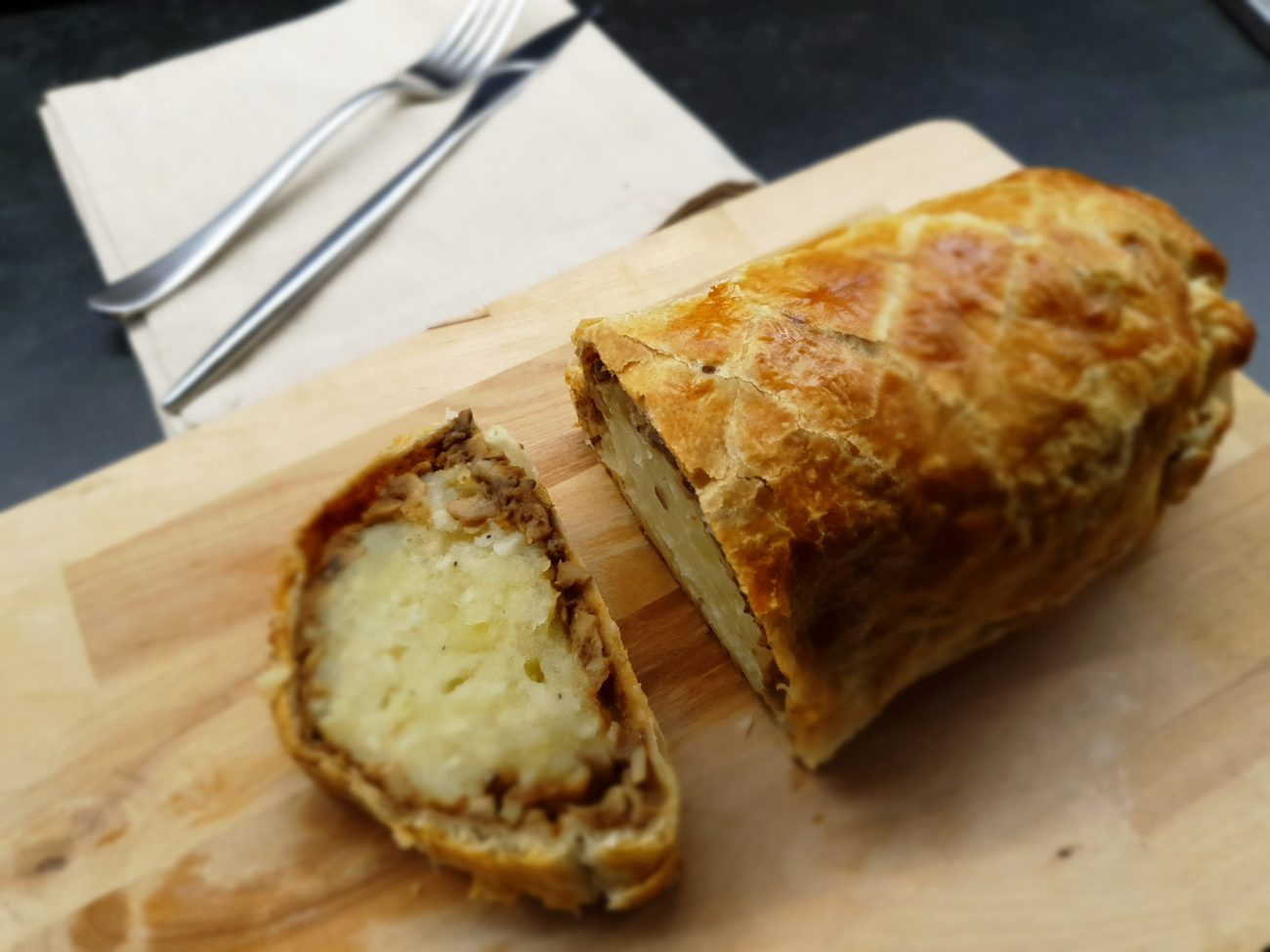 Patate alla Wellington