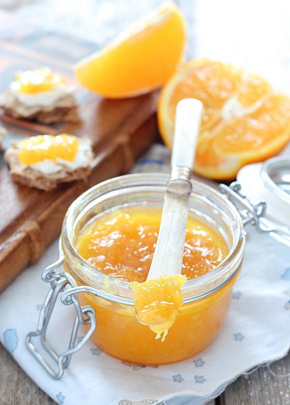 Marmellata di arancia e zenzero