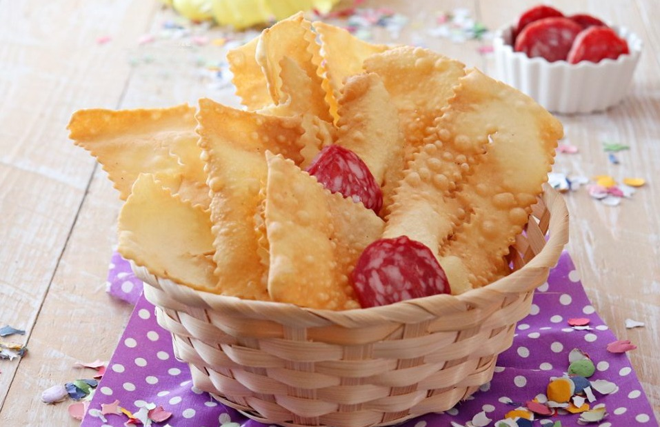 Chiacchiere salate