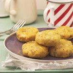 Tortini di patate e cavoletti