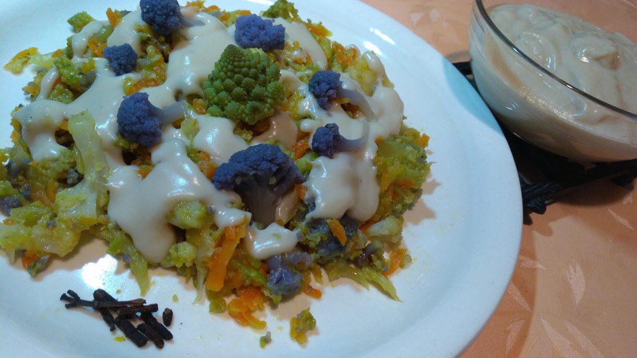 Cavolfiori e Broccoli alla Besciamella