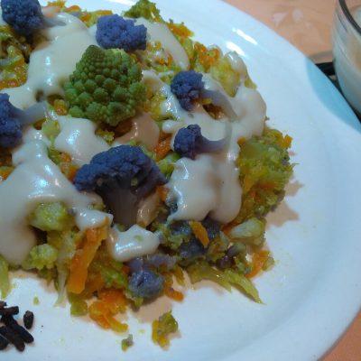 Rosette Cavolfiori e Broccoli con Besciamella