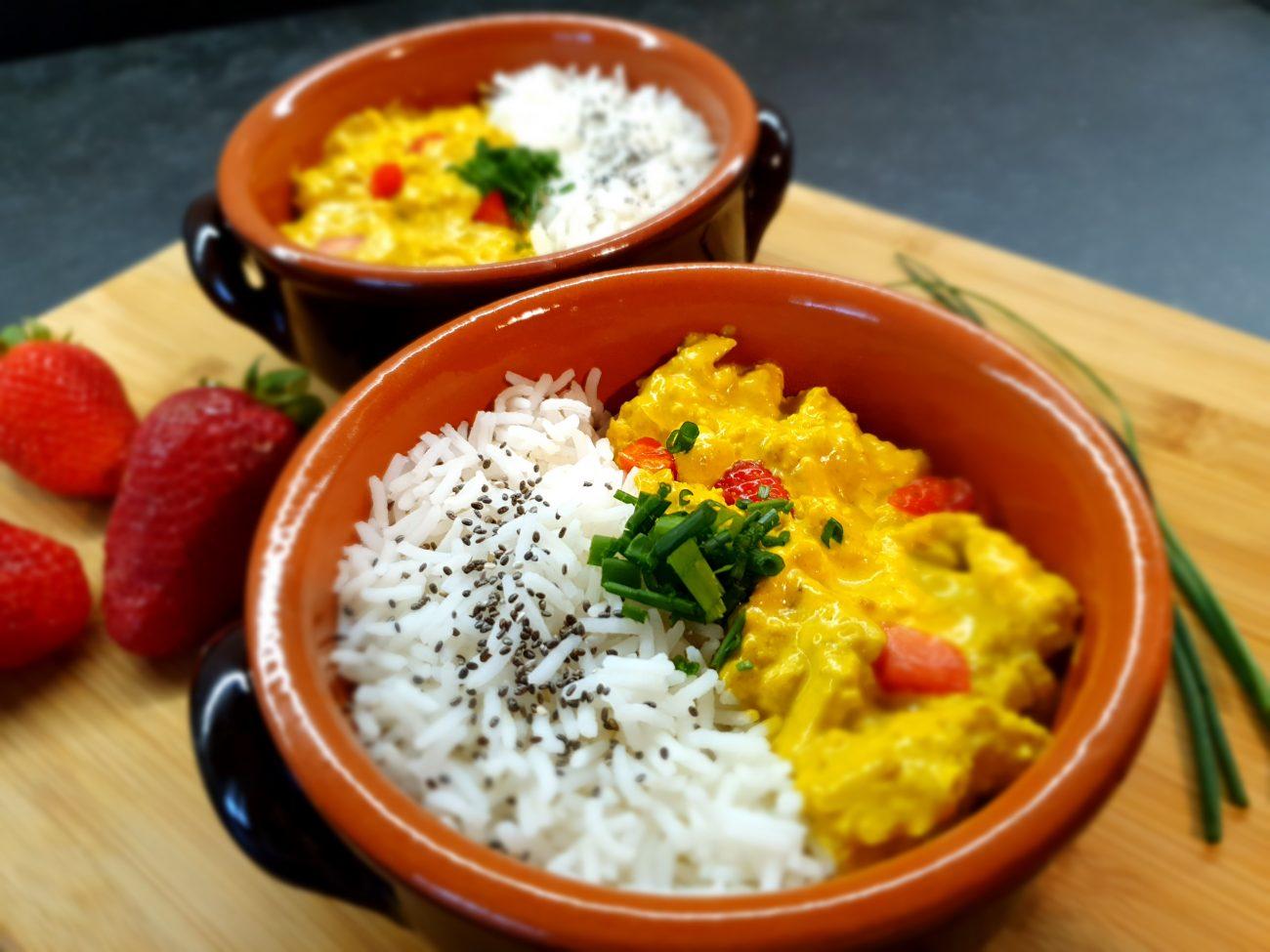 Basmati al Latte di Cocco e Curry